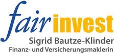 fair invest | Sigrid Bautze-Klinder | Finanz- und Versicherungsmaklerin